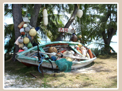 Boat and Buoys