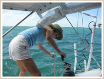 learn to sail the Florida keys